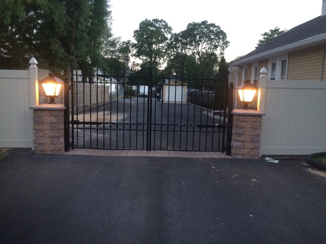 Remote control gate (after)