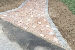 Paver walkway (after)