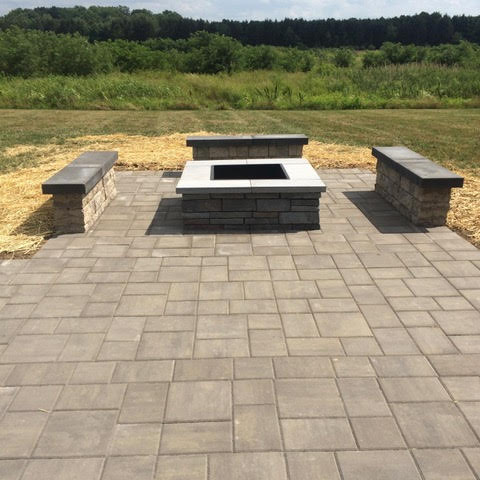 Firepit - patio