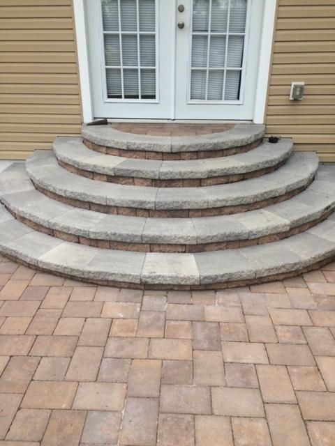 Hardscape steps